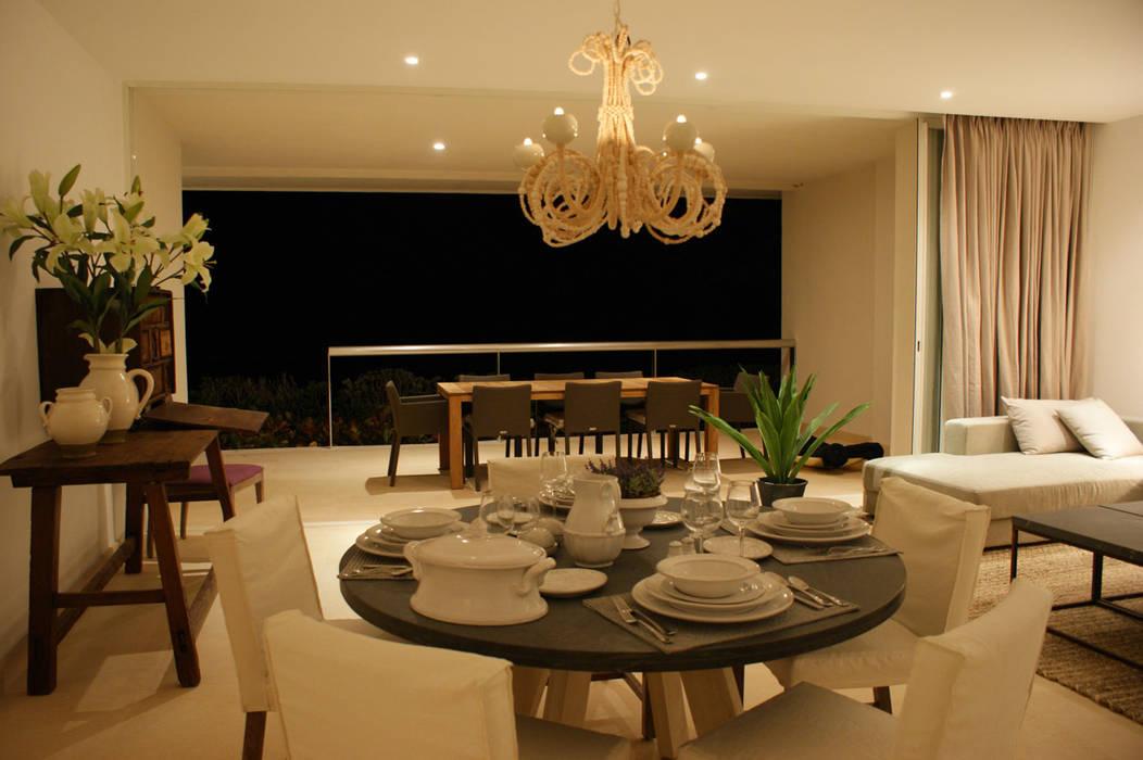 Departamento Tipo Playamar: Casas de estilo  por Lopez Duplan Arquitectos