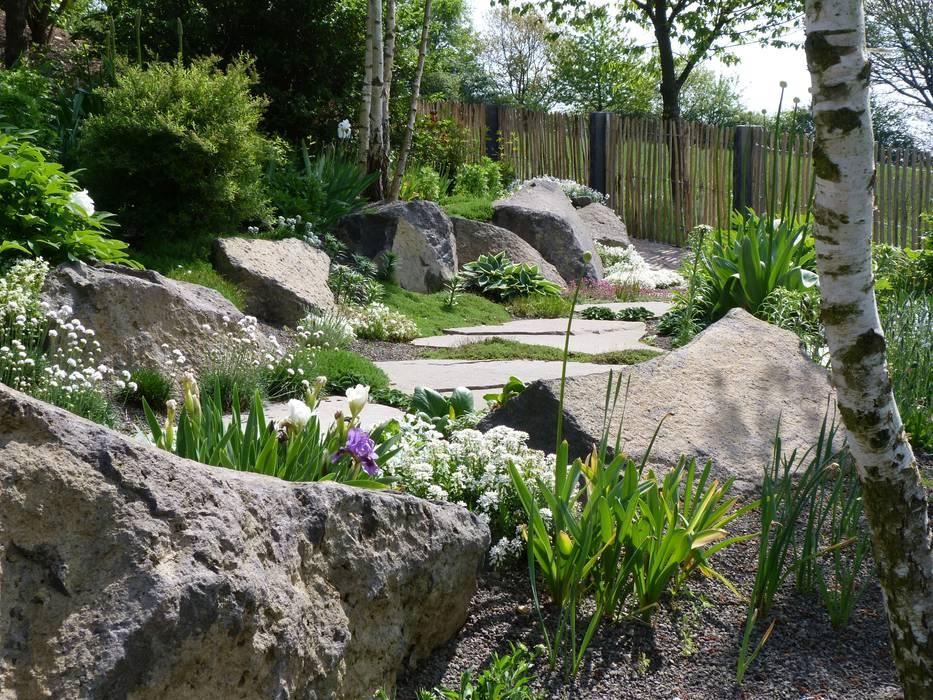 Birkenbeet Garten im Landhausstil von Gärten für Auge und Seele Landhaus