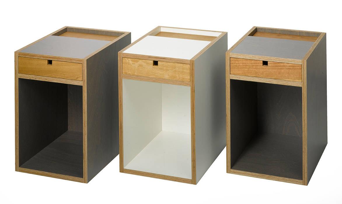 Victor Beistelltisch: minimalistische Schlafzimmer von Bokunst