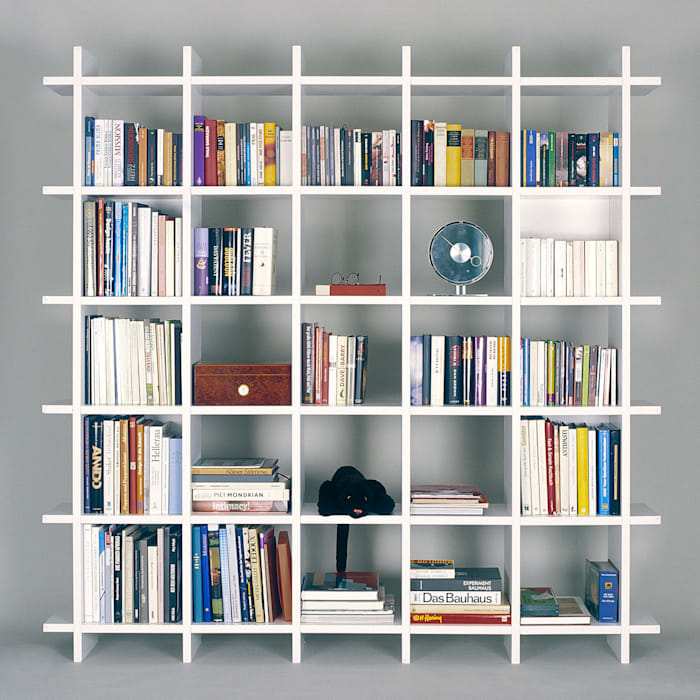Frank Huster Living roomShelves
