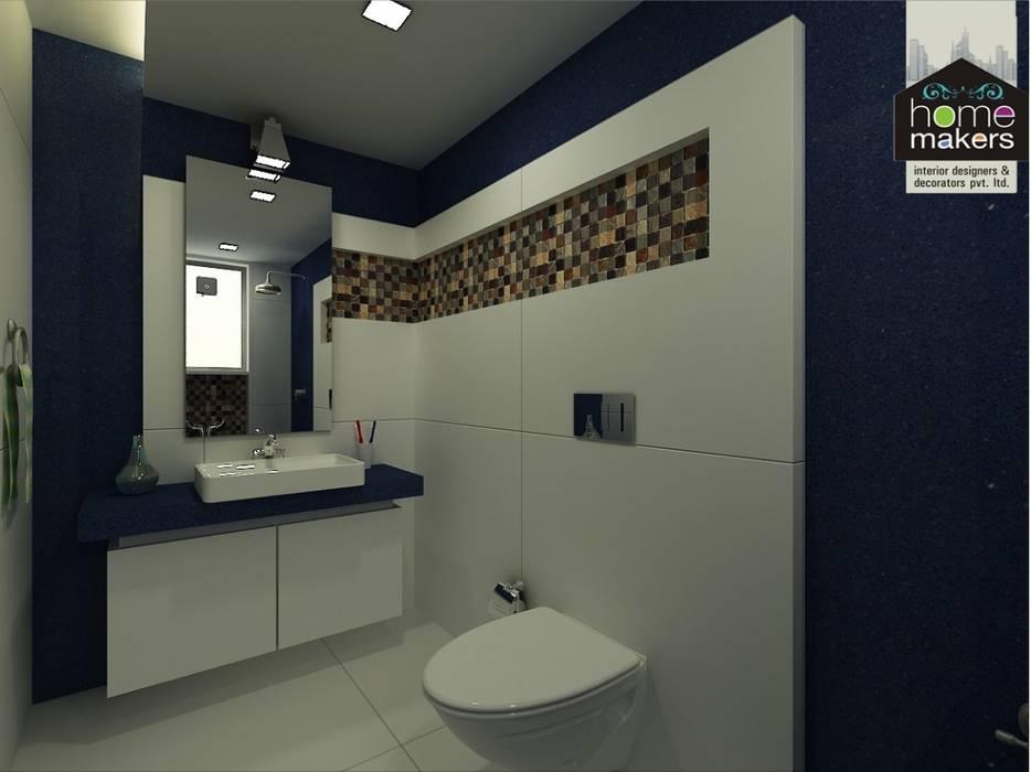 Blue Bathroom Modern bathroom by homify Modern