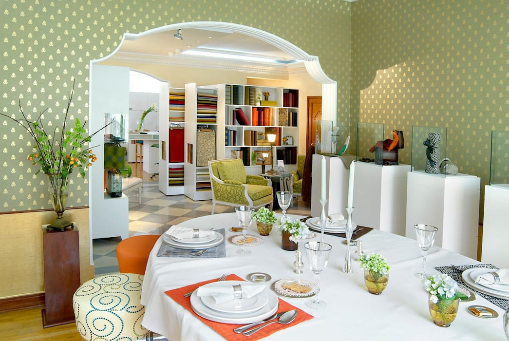 classic Dining room by usoarquitectura