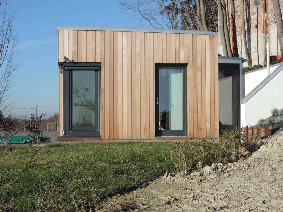 Residenza in Monferrato: Case in stile  di Ecospace Italia srl