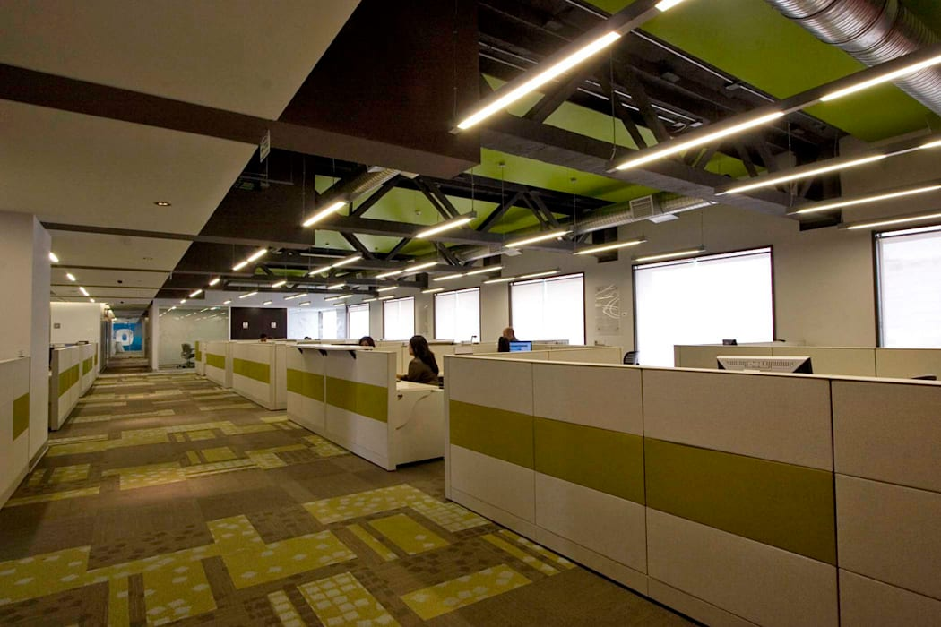 Corporativo IXE / Banco Deuno Estudios y despachos modernos de usoarquitectura Moderno