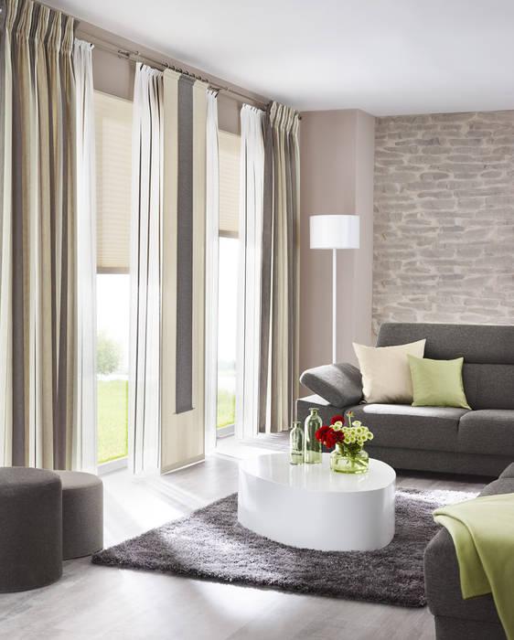 Delicieux Gardinen, Sonnenschutz, Plissee   LivingReet: Wohnzimmer Von UNLAND  International GmbH