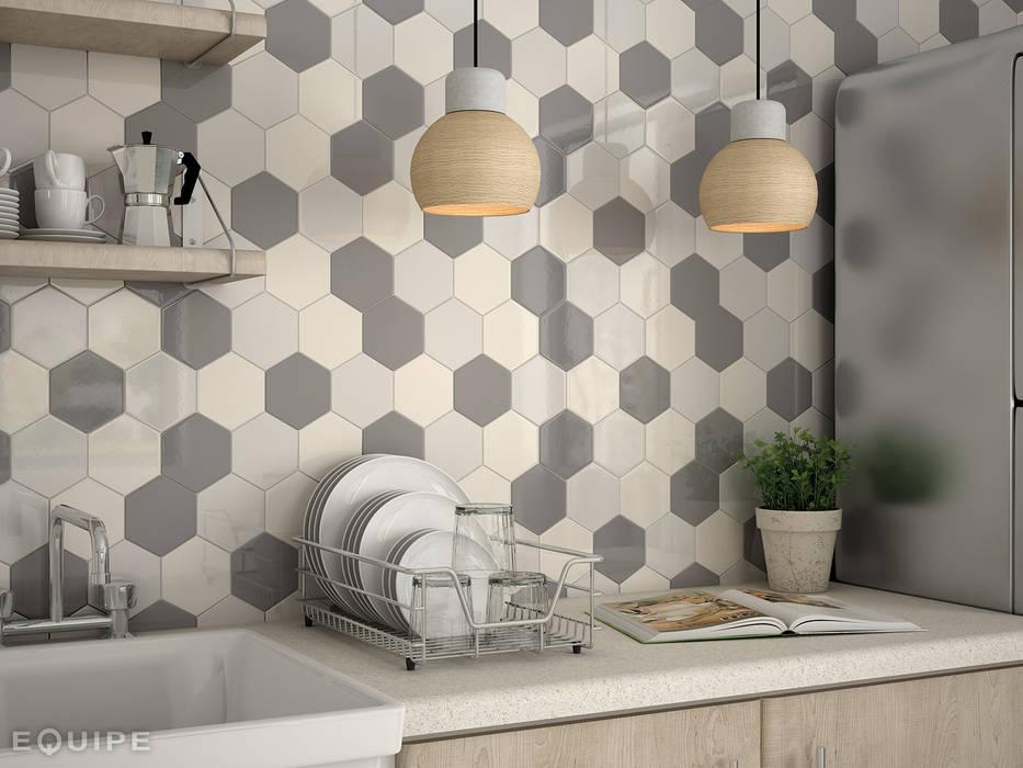 Kitchen by Equipe Ceramicas, Modern Ceramic