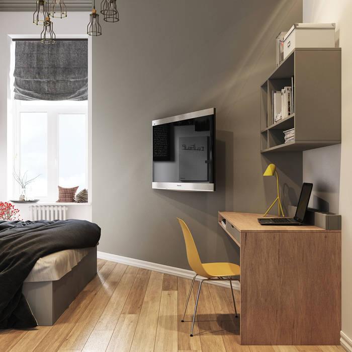 sreda Scandinavian style bedroom