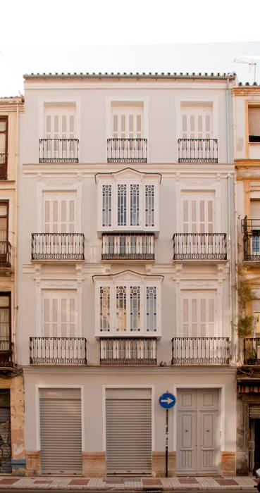 RESTORED ORIGINAL FACADE JoseJiliberto Estudio de Arquitectura Rumah Klasik