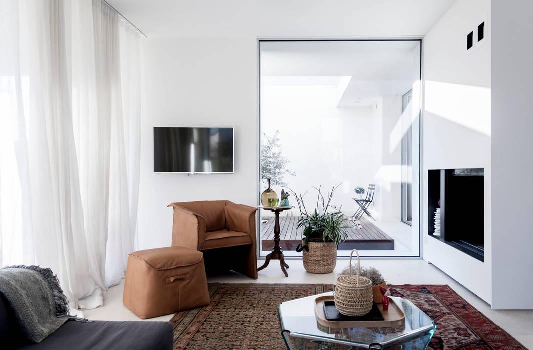 Residenza Privata Soggiorno moderno di Giopato & Coombes Moderno