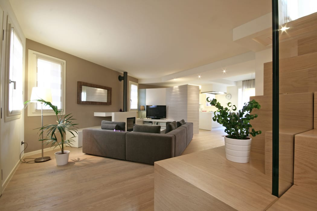 Modern living room by Diego Gnoato Architect Modern