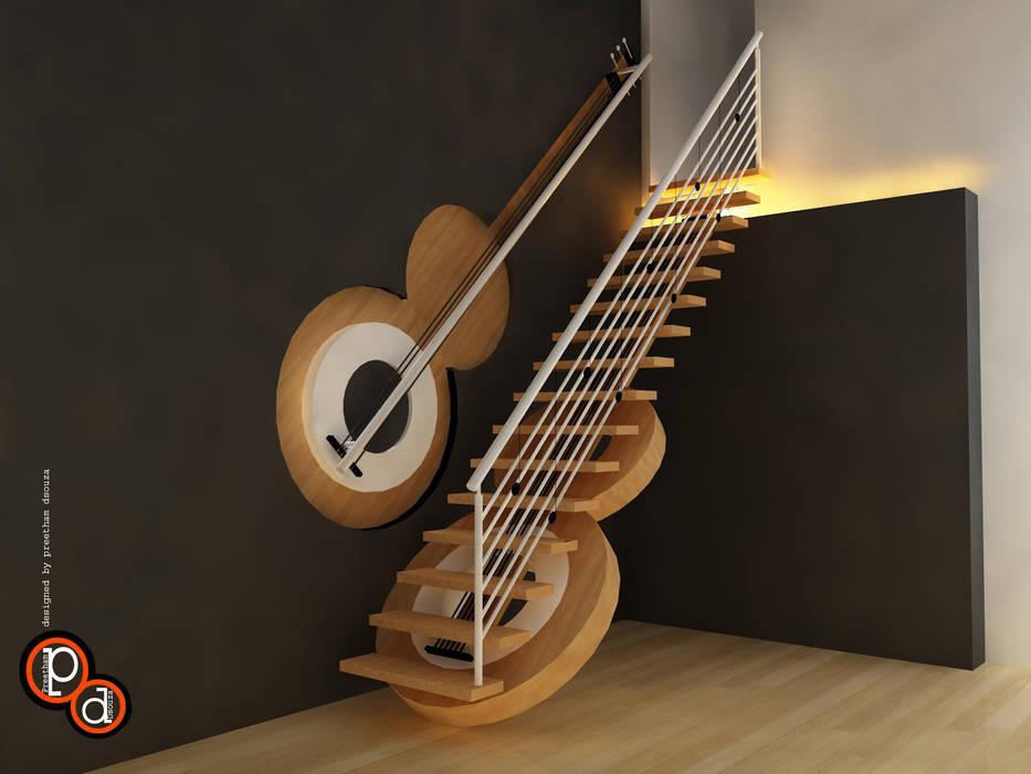 Corridor & hallway by Preetham  Interior Designer,