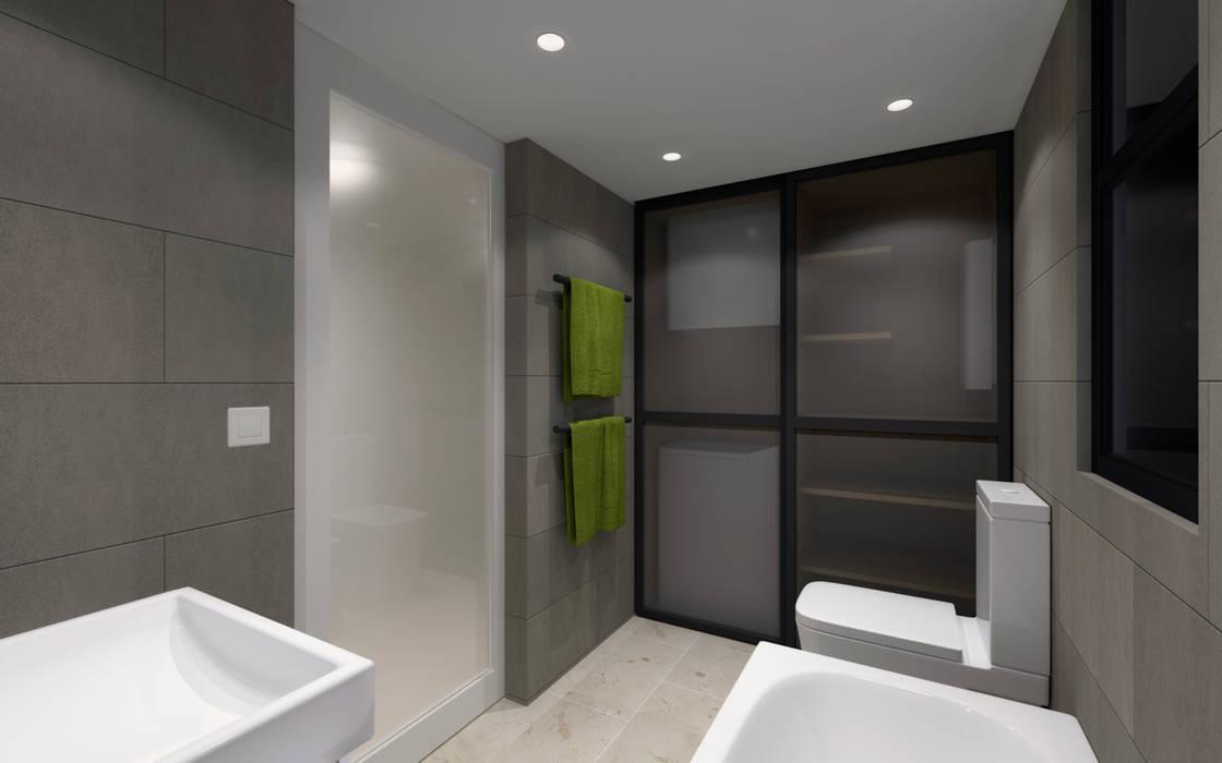 LT's RESIDENCE:  Bathroom by arctitudesign