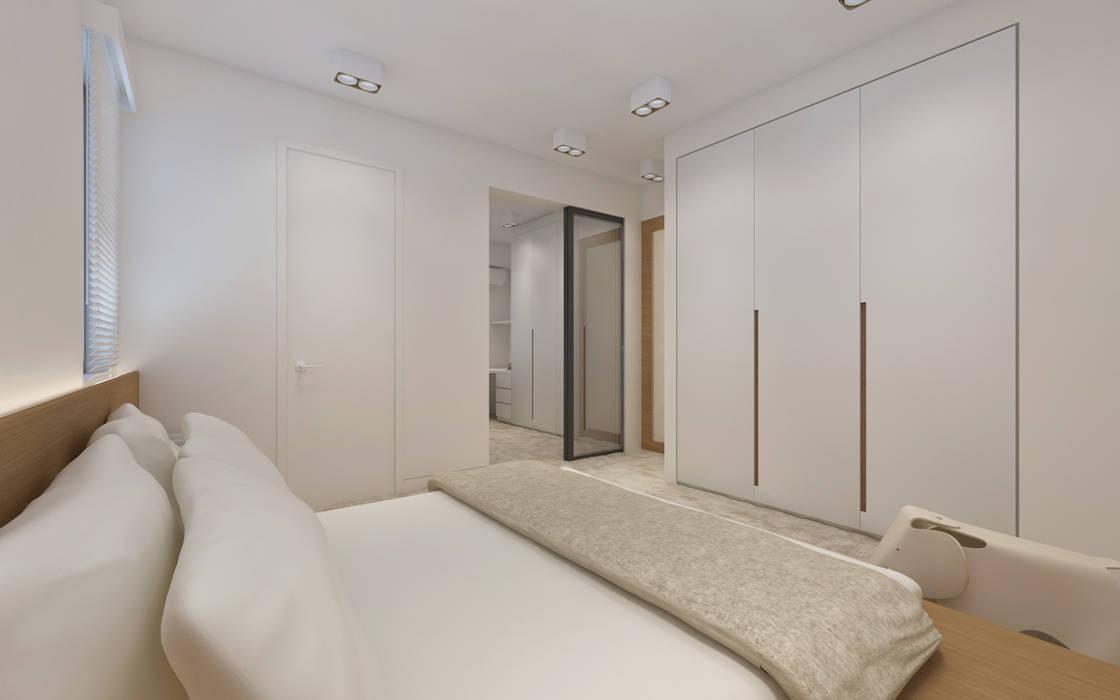 SL's Residence:  Bedroom by arctitudesign