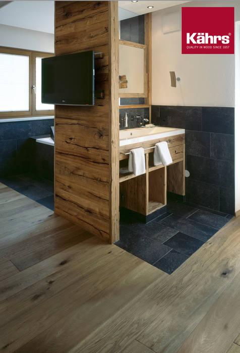 Parkett im badezimmer an der wand: wände & boden von kährs parkett ...