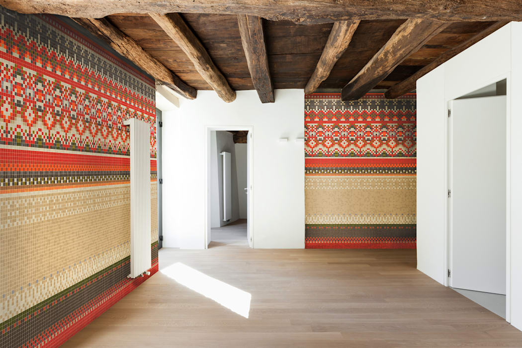Haft 1: styl , w kategorii Ściany zaprojektowany przez Trufle Mozaiki,Wiejski