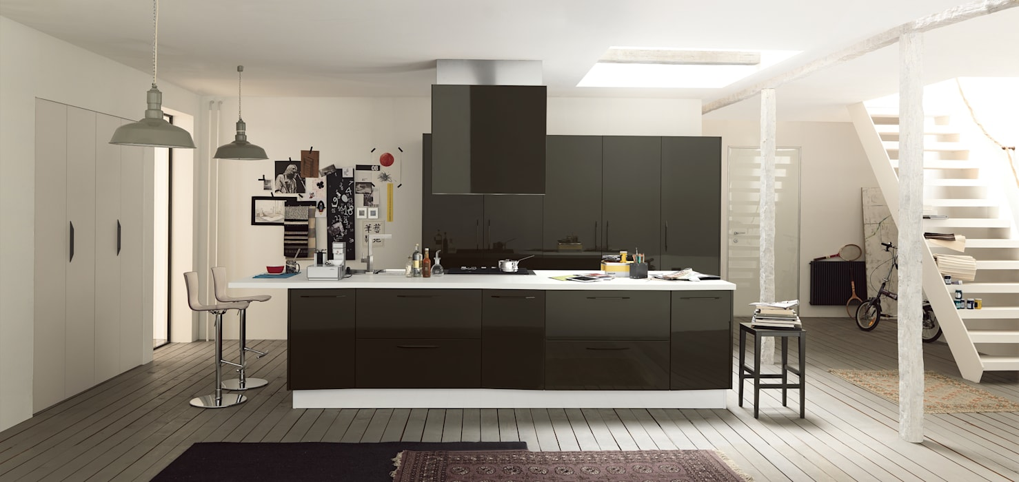 Kitchen by Matteo Beraldi Design Office