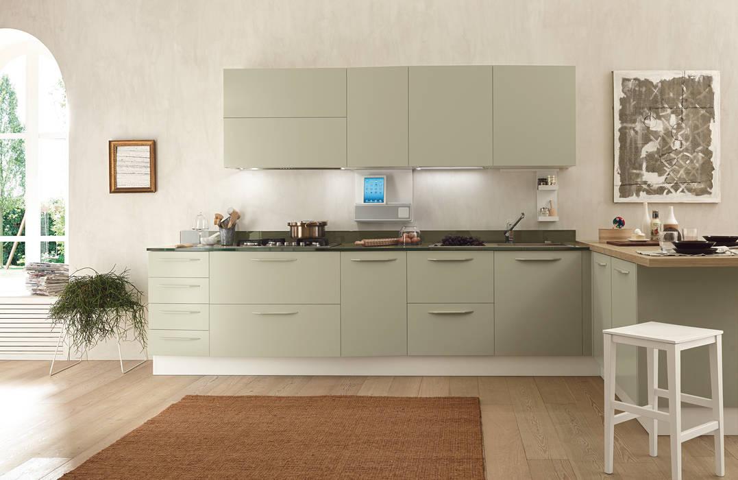 Alicante - Nature & Family Cucina moderna di Matteo Beraldi Design Office Moderno