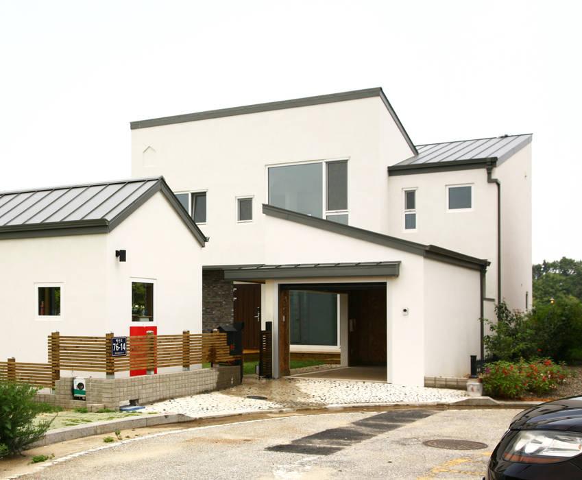 Rumah oleh 삼간일목 (Samganilmok), Modern