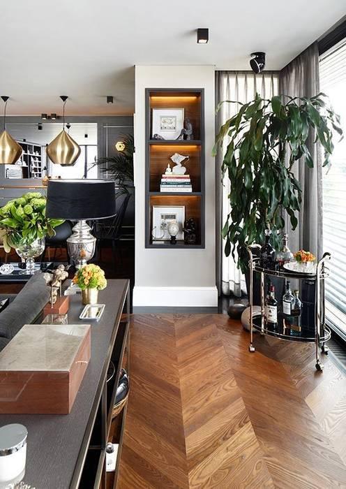 DEtails Eclectic style living room by Esra Kazmirci Mimarlik Eclectic
