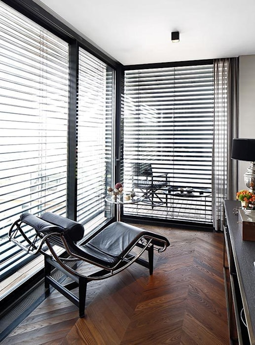Details: modern Living room by Esra Kazmirci Mimarlik
