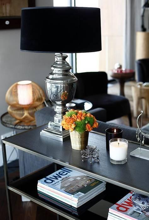 Details: eclectic Living room by Esra Kazmirci Mimarlik