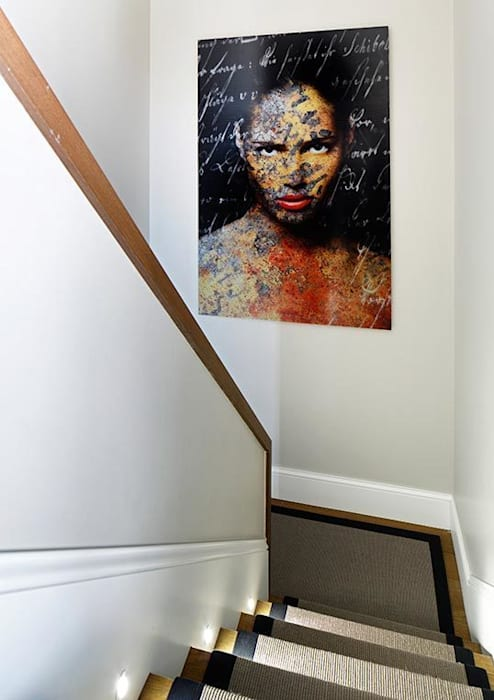 staircase Modern walls & floors by Esra Kazmirci Mimarlik Modern