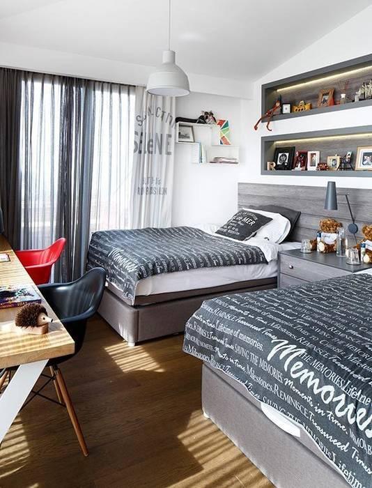 Kids room Modern style bedroom by Esra Kazmirci Mimarlik Modern