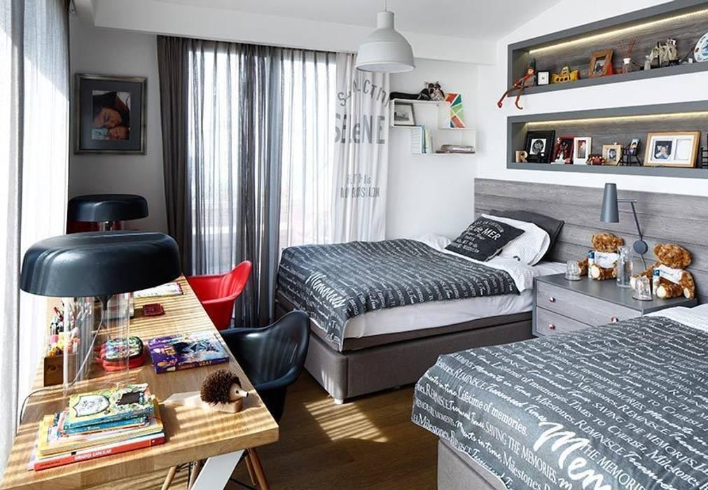 kidsroom Industrial style living room by Esra Kazmirci Mimarlik Industrial