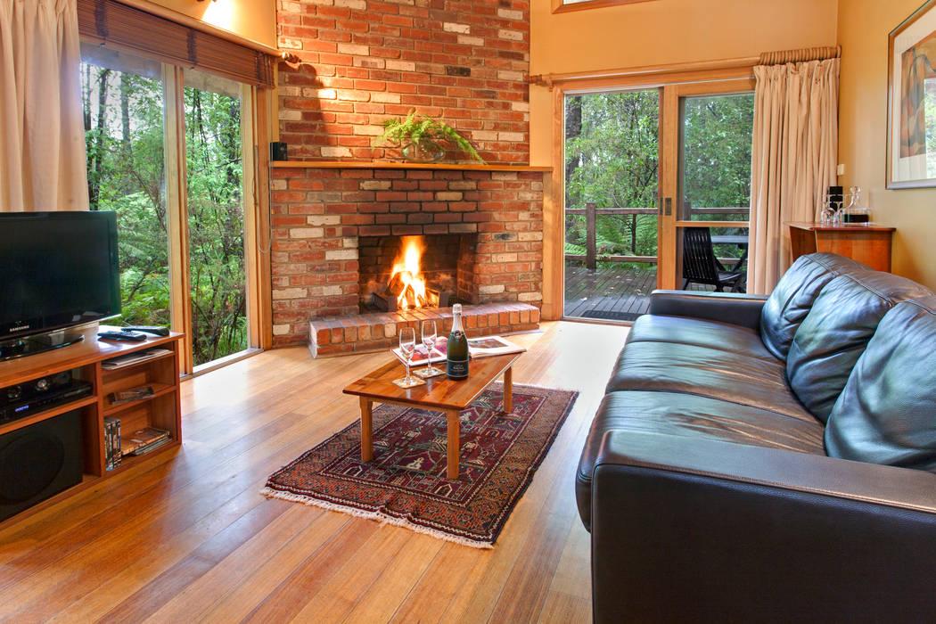 Australian Rainforest Retreat Woodlands Rainforest Retreat Country style rooms