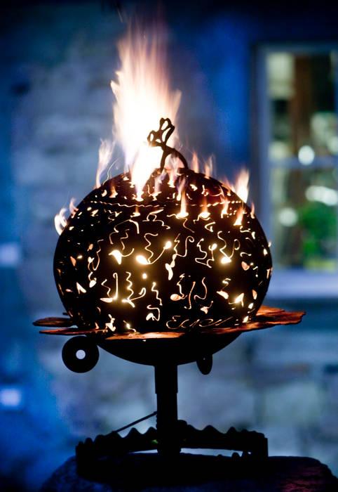 Feuertonnen: industriell  von Feuertonnen,Industrial