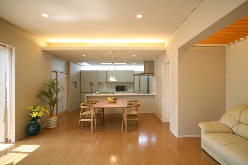 株式会社 U建築研究所 Modern living room