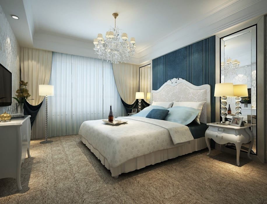 RESIDENTIAL INTERIOR Classic style bedroom by TOPOS+PARTNERS Classic