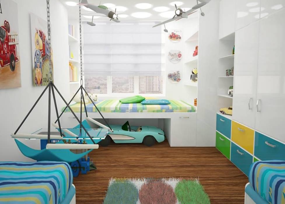 Nursery/kid's room by Medianyk Studio , Modern