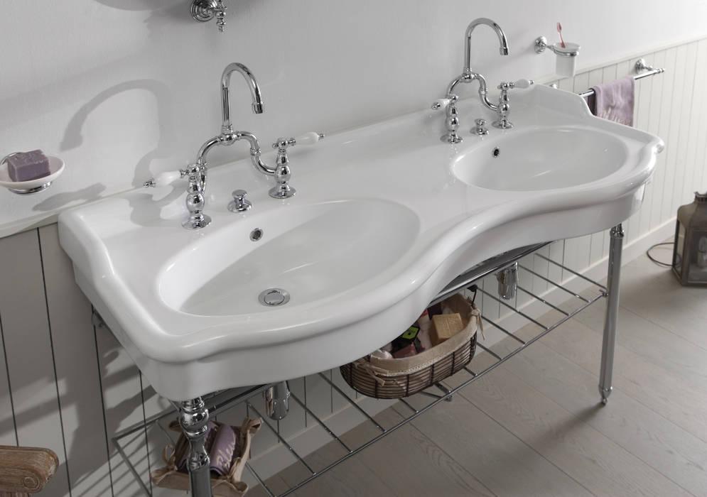 lavabo doppia vasca 140cm di bleu provence Classico