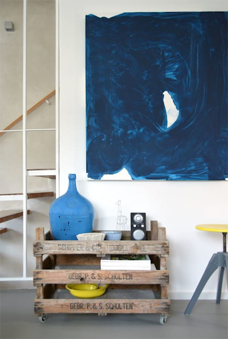 Коридор и прихожая в . Автор – Kristina Steinmetz Design, Лофт