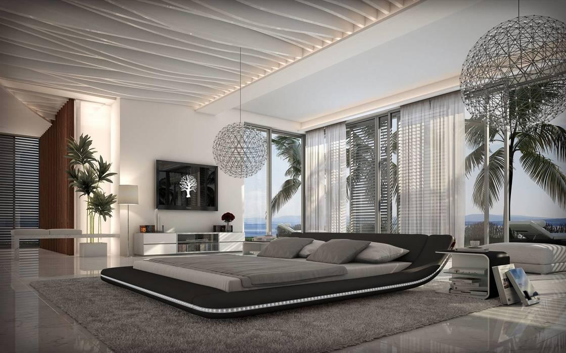 Nitro Mobilier modern bedroommobilier nitro | homify