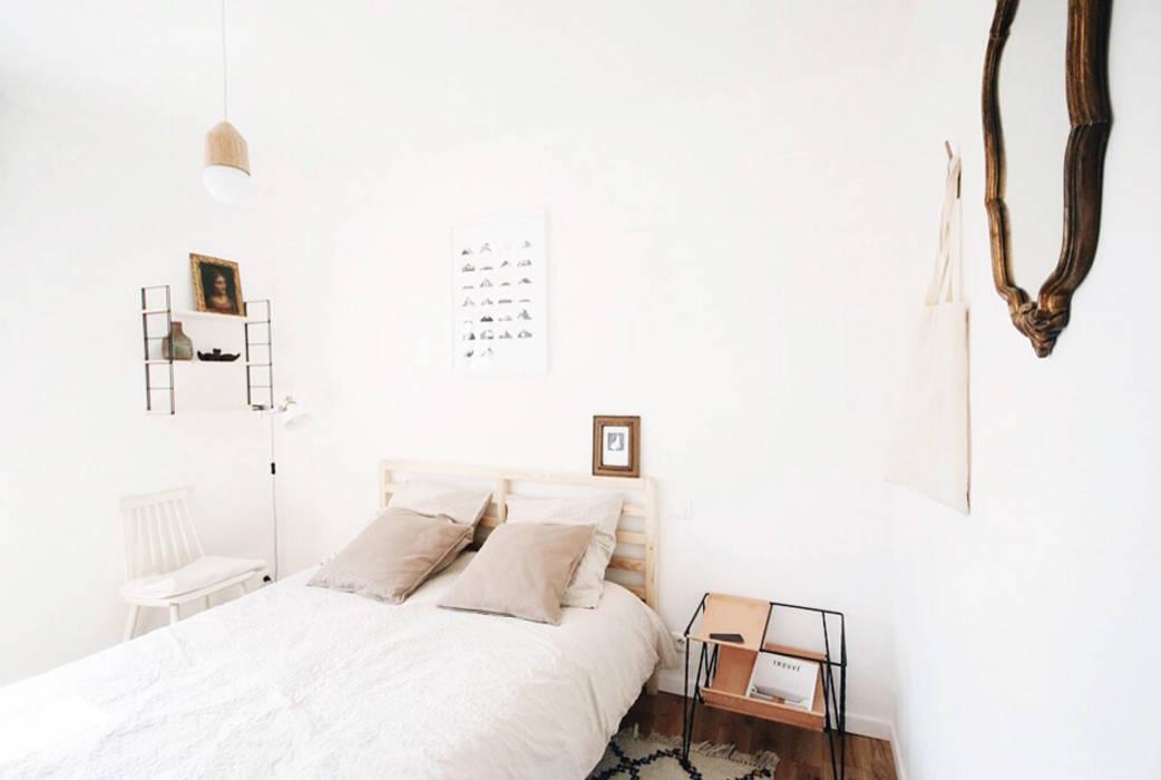 Dormitorios de estilo minimalista de Elsa Noblet Minimalista