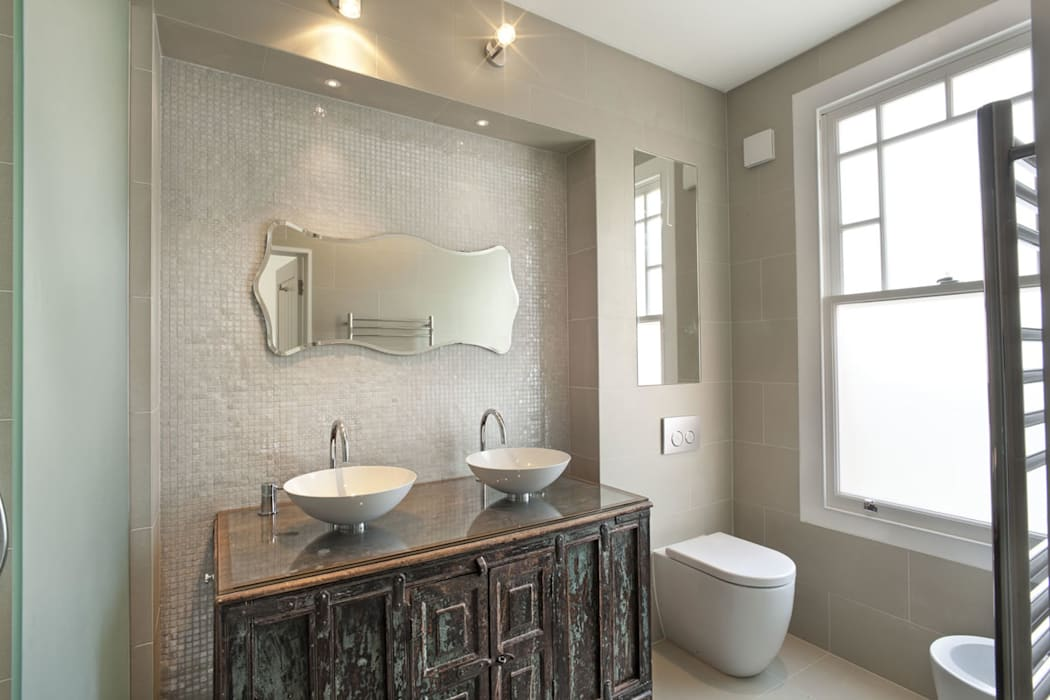 Eclectic Bathroom By Xul Architecture Homify Unique Eclectic Bathroom