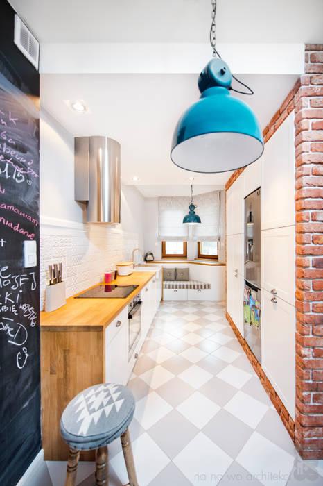 Willowa Aleja NA NO WO ARCHITEKCI Skandynawska kuchnia