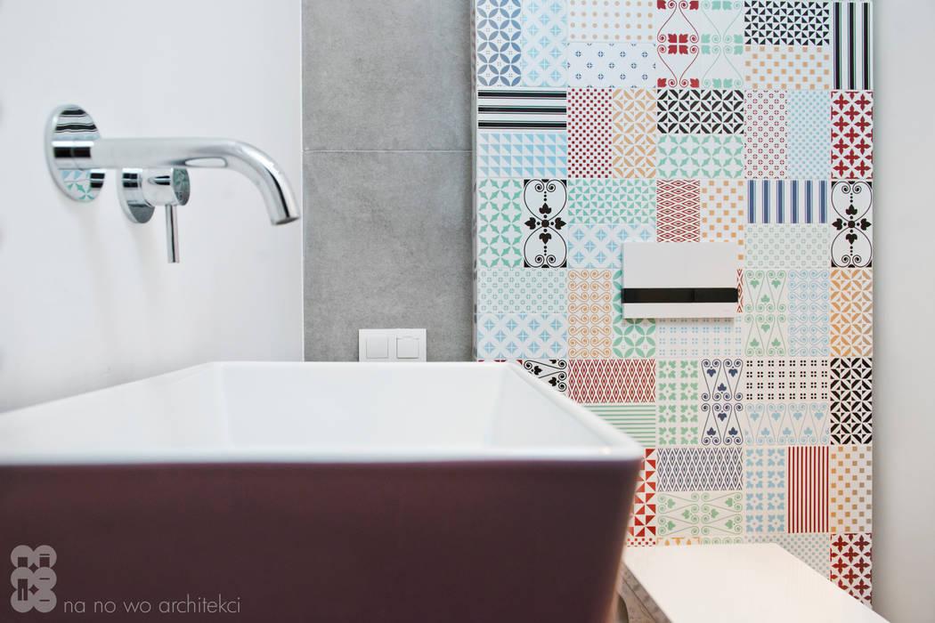 Scandinavian style bathroom by NA NO WO ARCHITEKCI Scandinavian