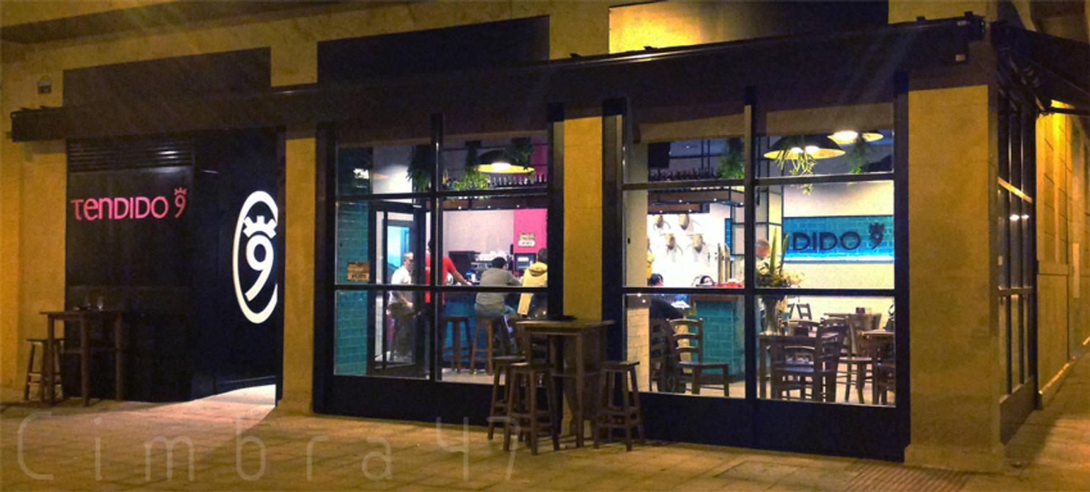 diseño y reforma local comercial en burgos. Bar Tendido9 Cimbra47 Espacios comerciales