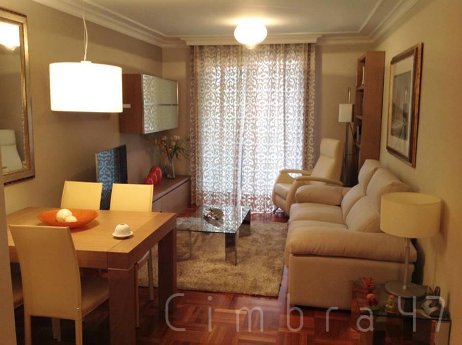 Reforma completa de vivienda en burgos: Casas de estilo  de Cimbra47