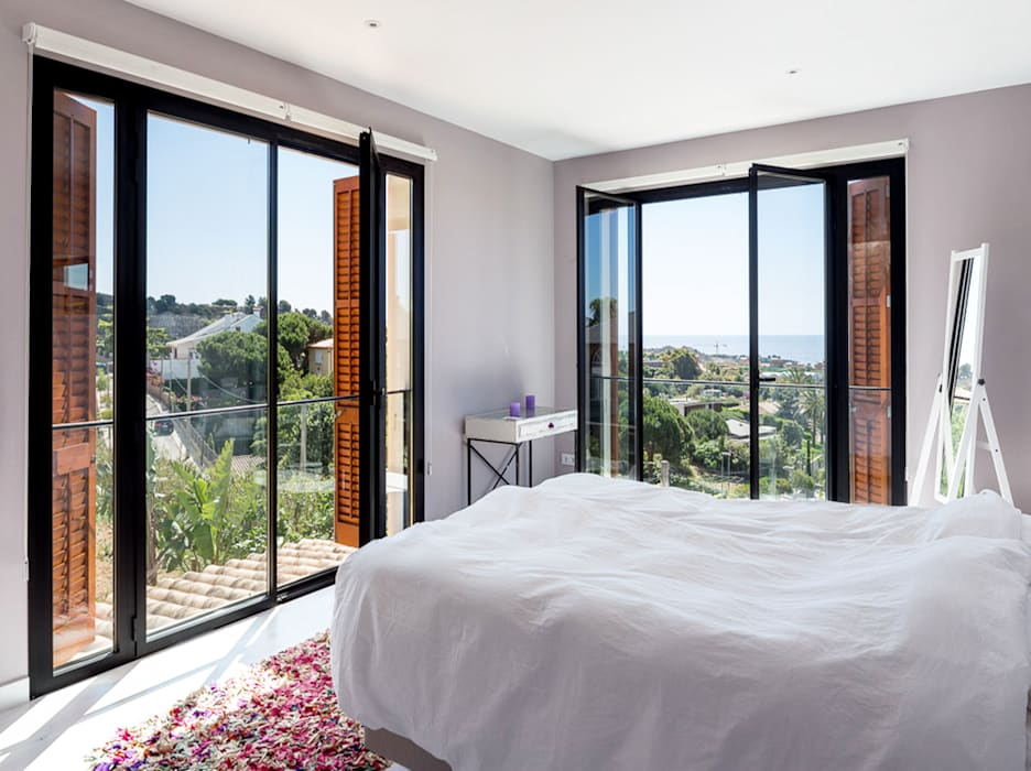 Mediterranean style bedroom by 08023 Architects Mediterranean