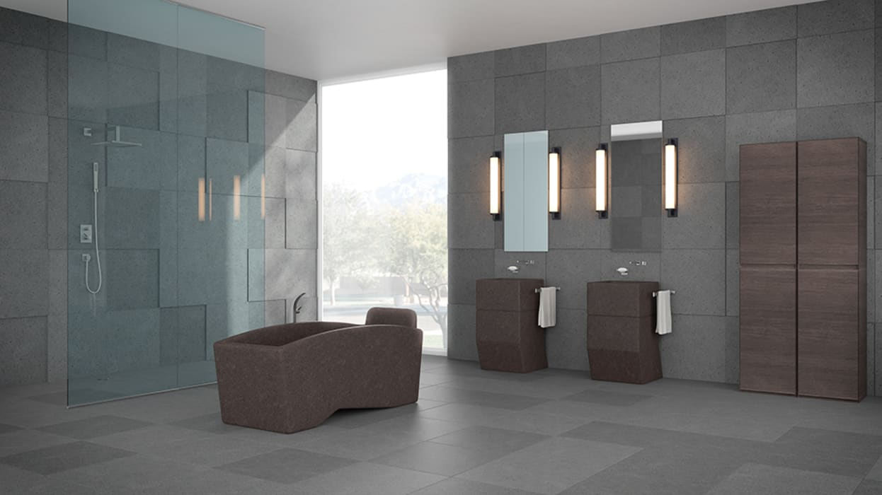 modern Bathroom by Ranieri Pietra Lavica