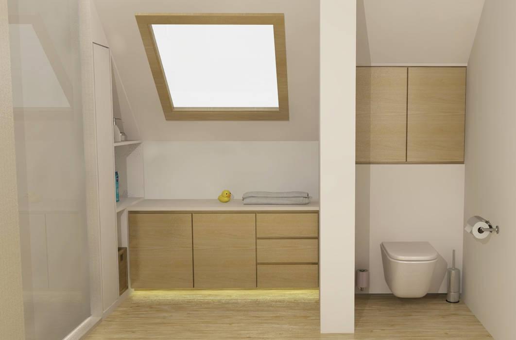 Badkamerkast 'Float':  Badkamer door AD MORE design