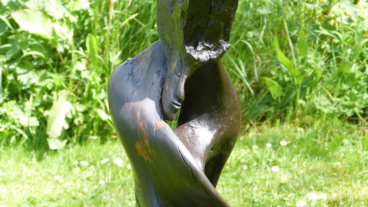 Bog Wood Sculpture Irish Bog Wood Sculpture 藝術品雕刻品
