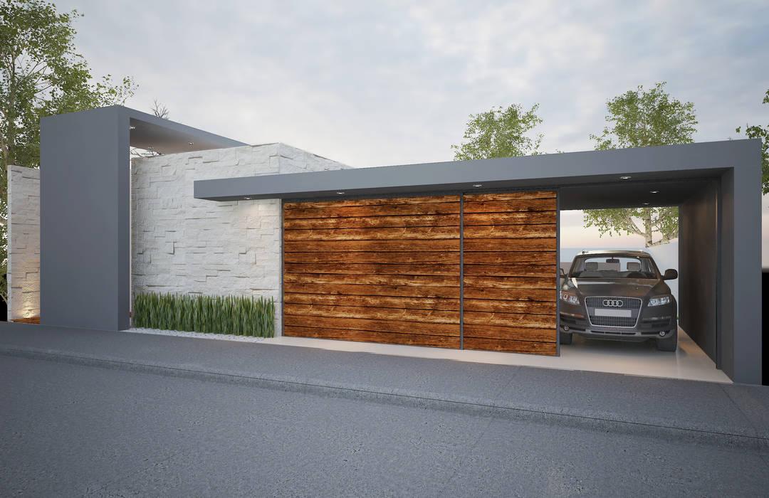 บ้านและที่อยู่อาศัย โดย Xome Arquitectos,