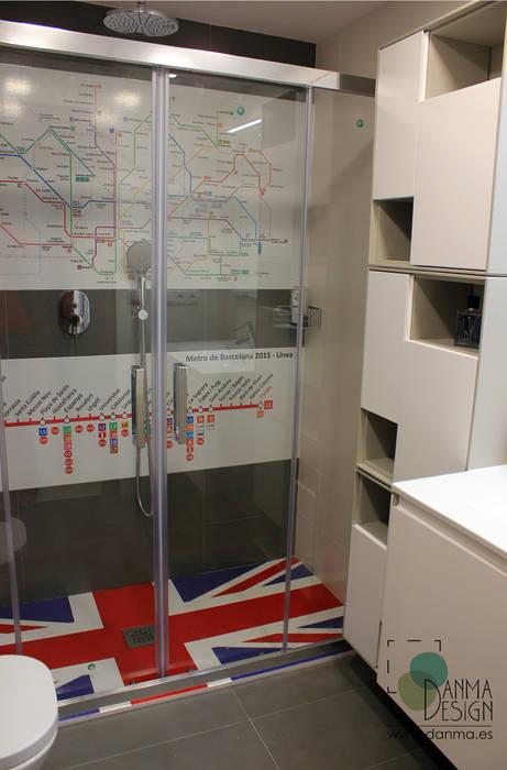 British Bathroom de Danma Design Ecléctico