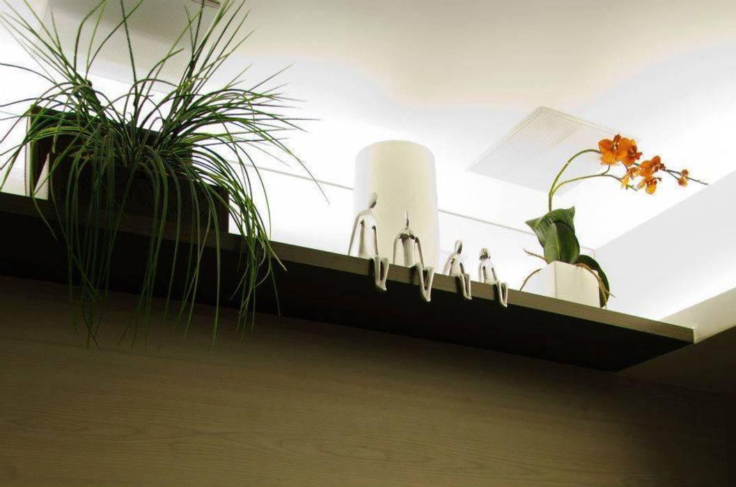 Detalhe: Salas de estar  por Paula Werneck Arquitetura