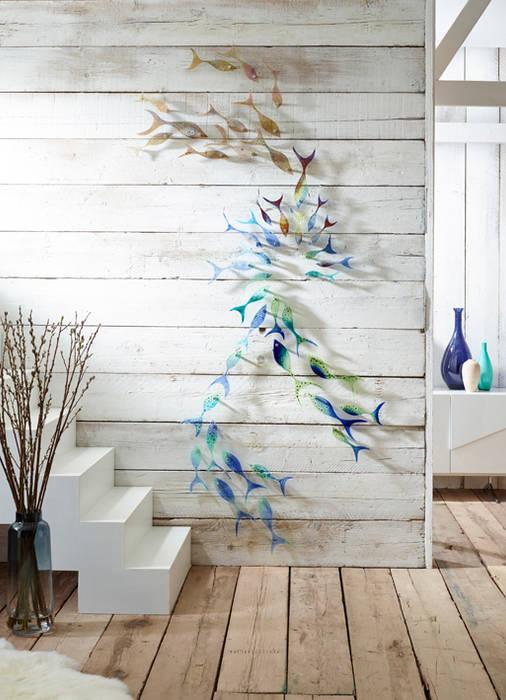 Shoaling Fish Dinding & Lantai Modern Oleh Jo Downs Modern